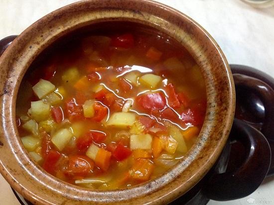 овощное рагу в горшочках в духовке