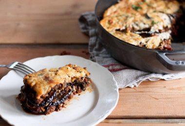 Баклажан с мясом в духовке: армянский рецепт