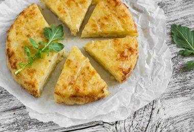 Картошка с омлетом: рецепты в духовке оригинальных блюд