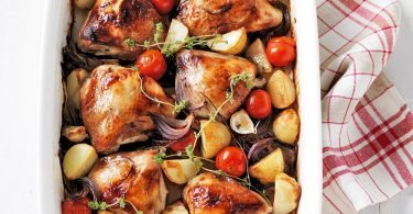 Куриные бедра в духовке с овощами: рецепты полноценных вторых блюд