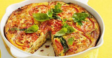 Омлет в духовке с овощами: рецепты приготовления с помидорами и брокколи