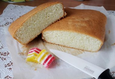 Рецепты бисквита в духовке на лимонаде, кипятке и кисломолочных продуктах