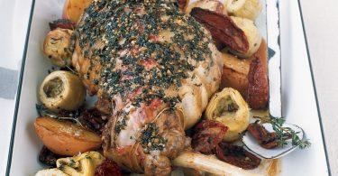 Рецепты баранины в духовке в рукаве с овощным ассорти