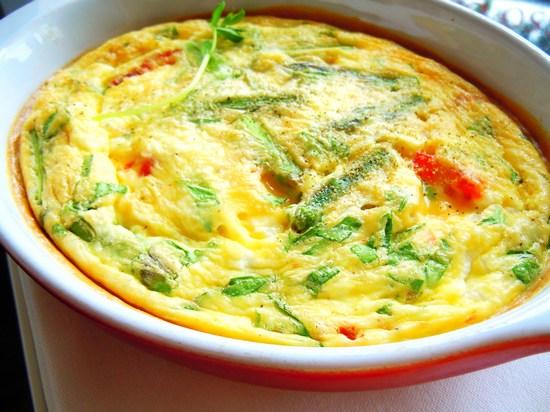 омлет в духовке с сыром