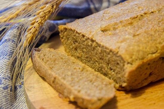 Диетический овсяный хлеб
