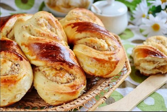 Булочки с ореховым вкусом