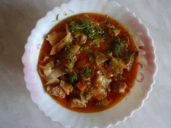 Овощное рагу с баклажанами в духовке: рецепт