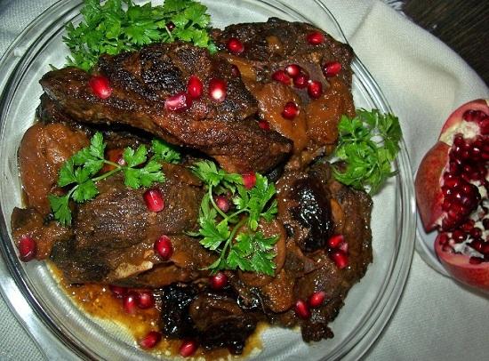 Корейка баранины в духовке: рецепт