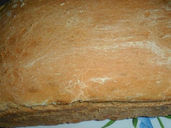 Хлеб: рецепт в духовке с сухими дрожжами