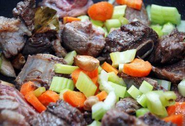 Рецепты говядины с овощами
