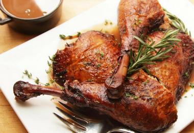 Рецепты запеченного бедра индейки в духовке
