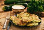 Лучшие рецепты кабачковых оладий в духовке