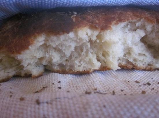 Хлеб на кефире в духовке: рецепт