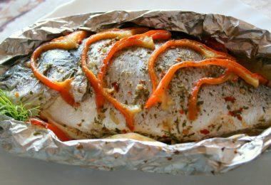 Язь в духовке: рецепт приготовления