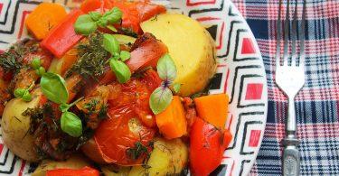 Рецепт рагу в духовке (овощного)