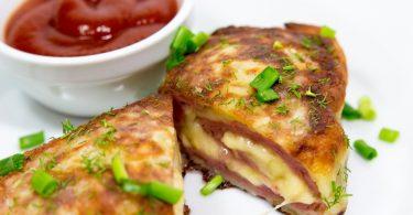 картофельный с мясом в духовке: рецепт