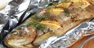Скумбрия в фольге в духовке: рецепт запекания