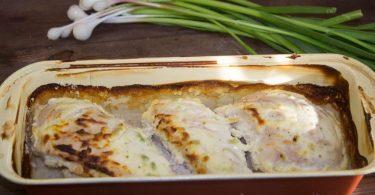 Скумбрия в сметане в духовке: рецепт