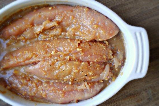 Отбивные из филе индейки в кисло-сладком маринаде