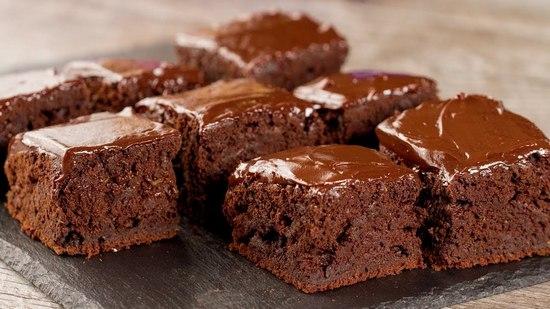 Кекс шоколадный в духовке: простой рецепт на кефире
